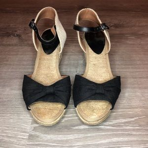 3 for $30 Lucky brand bow wedges
